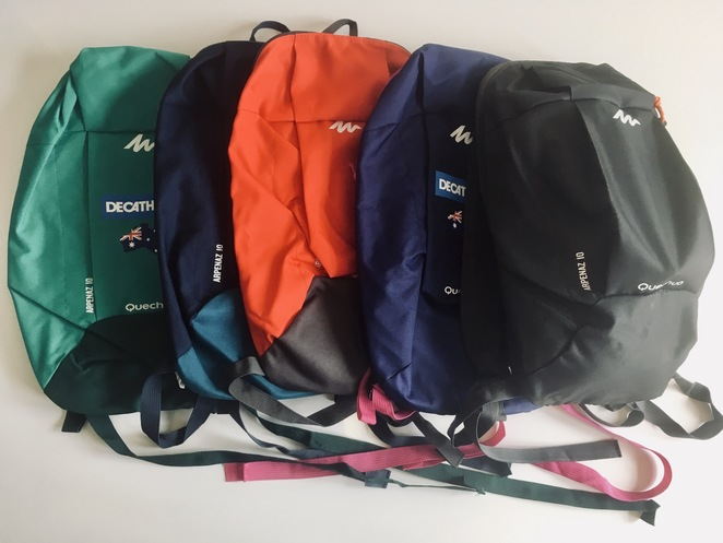 Decathlon 10L backpack, Decathlon 4.50 backpack, cheap hiking backpack, cheap Christmas present, image by Jade Jackson