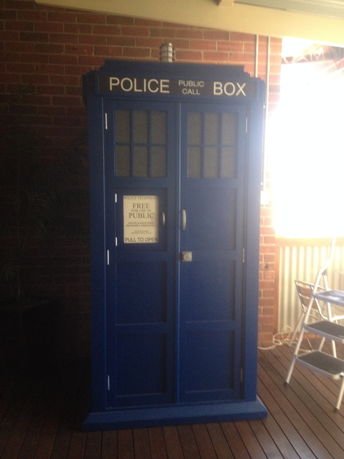 Doctor Who's time travelling TARDIS