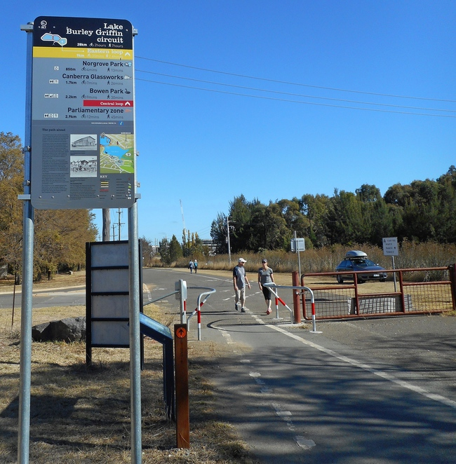 eastern loop, lake burley griffin, canberra, ACT, walks, runs, bike paths