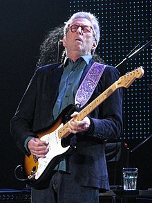 Eric Clapton, guitar, music, Happy Christmas, album