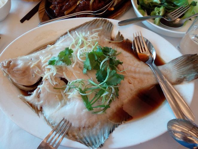 Flounder, seafood, Chinese, Yum Cha
