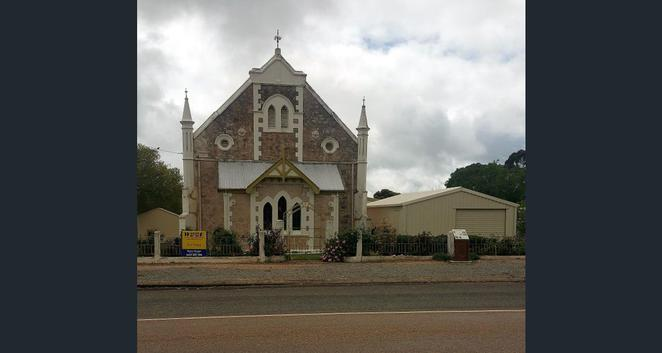 Georgetown Baptist Church, church for sale in South Australia, church for sale, stone churches, historic buildings, Baptist Church,