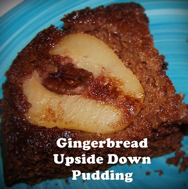 gingerbread upside down pudding, pudding, winter, recipes, desserts, best desserts, australia, winter, cold, hot, warm, easy, tinned pears, ginger, upsdie down cakes, upside down puddings,