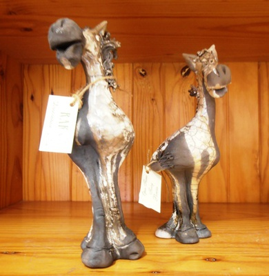 Gorgeous hand-crafted figurines from Guildford Village Potters