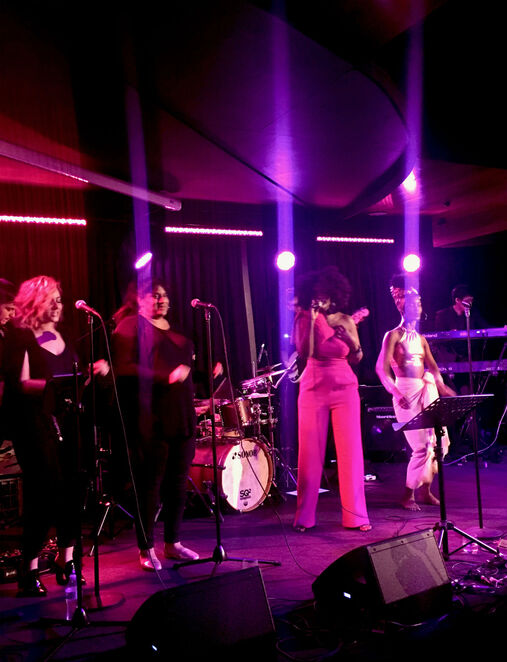 joyssoul music live band show 2019, community event, fun things to do, night life, date night, restaurant, bar, show venue, music venue, st kilda, live band, music lovers, soul vocals, new market st kilda, fryfly st kilda, karen bravo, joys njambi, african roots, gospel, acid jazz, urban and classic soul, 10 piece sound system, songstress, joyssoul custom curated sets, range of music options, entertainment, performign arts