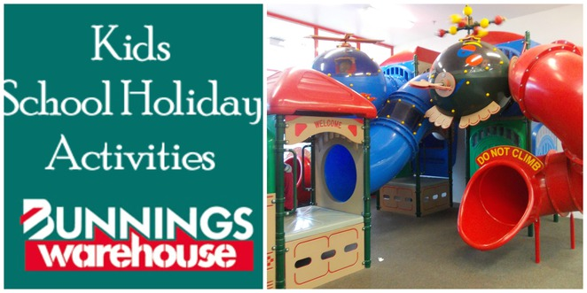 bunnings school holidays kids activities bunnings warehouse