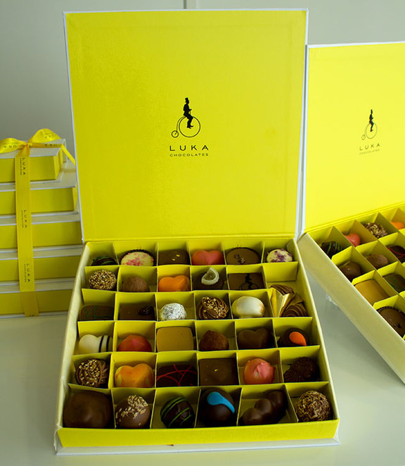 Luka chocolate gift box