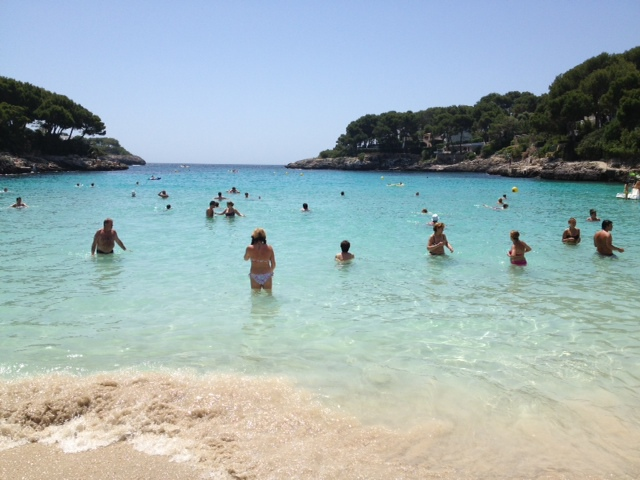majorca, cala dor, beach, family holiday, cala gran