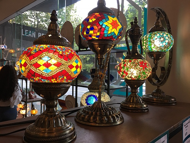 Mosaic Turkish Lamp Workshop