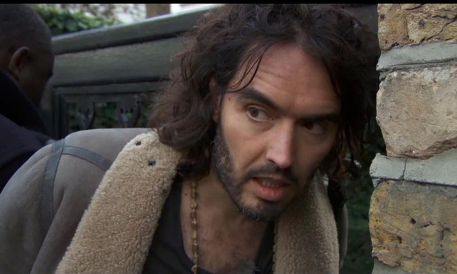 movie review, film review, the emporer's new clothes, russell brand, political, financial, michael winterbottom, revolution films