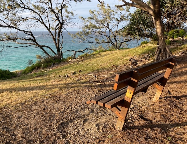 A wonderful spot to unwind and watch the marine wildlife swimming by
