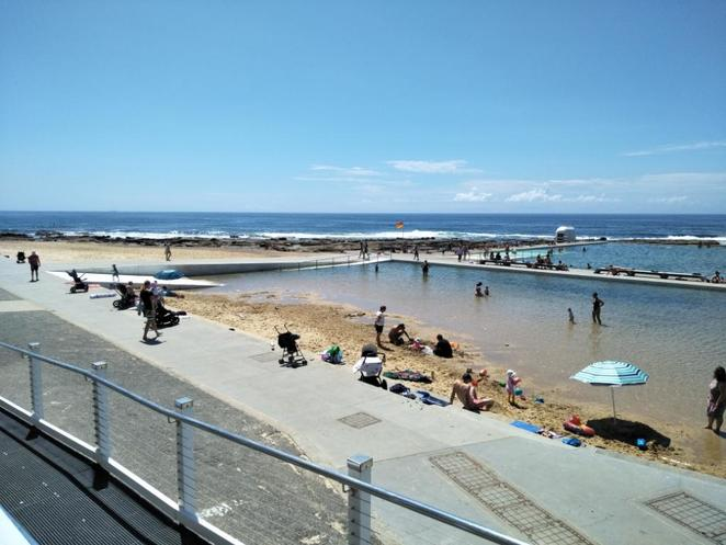 Newcastle beaches, Merewether Ocean Baths, Newcastle best swimming spot, Newcastle best family swimming spot, Merewether Baths cafe, Newcastle coffee