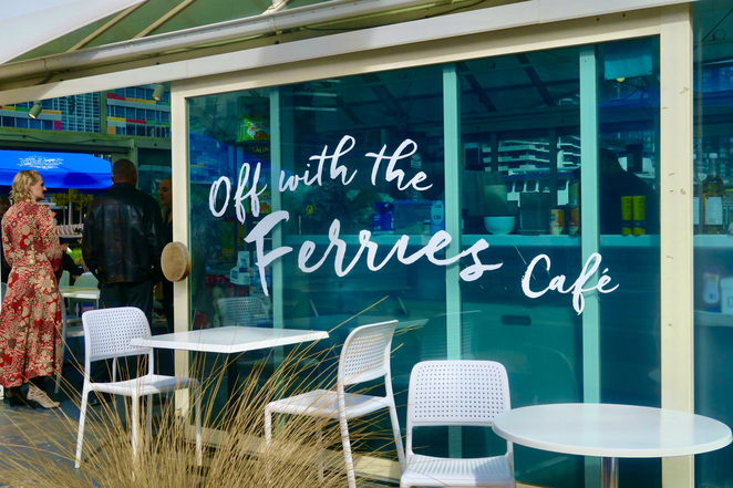 Off with the ferries cafe