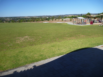 'Kick about' area at Goldenfields
