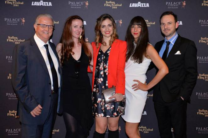Palace Cinema team with special guest Nadir Caselli