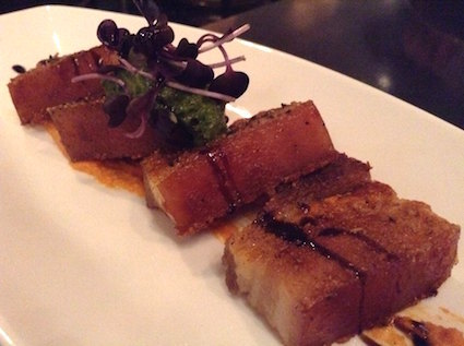 pork belly @ Oscar's Table #BED