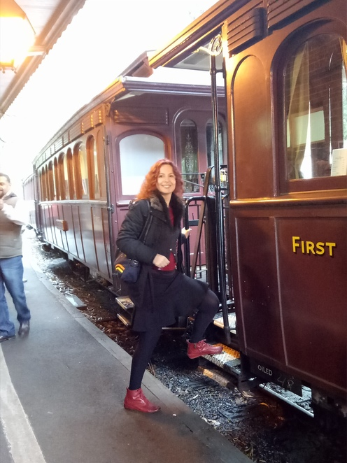 Puffing billy, steam train, dandenong rangers, day trip, steam and dine