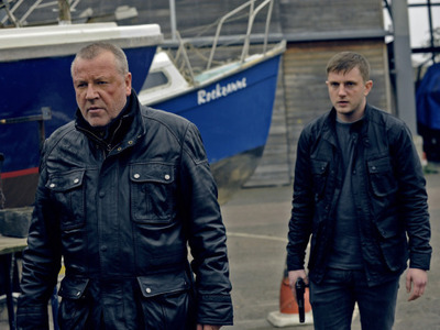 Ray Winstone (Jack Regan), Ben Drew (as George Carter), The Sweeney film