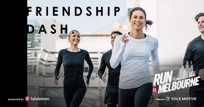 run melbourne 2018, community event, fun things to do, charity, fundraiser, health and fitness, lululemon, sole motive, exercise, free training for run melbourne, run melbourne friendship dash, sandy point half marathon, harvest run 2018, green point reserve brighton