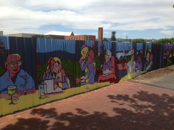 Sally Parnis, North Adelaide, mural
