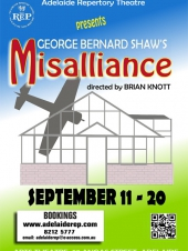 Shaw's Misalliance by Adelaide Repertory Theatre at The Arts Theatre - Review