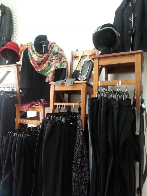 Shopping, secondhand, clothes, Maryborough