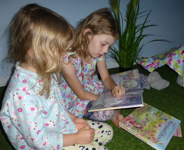 Never too young to share a book
