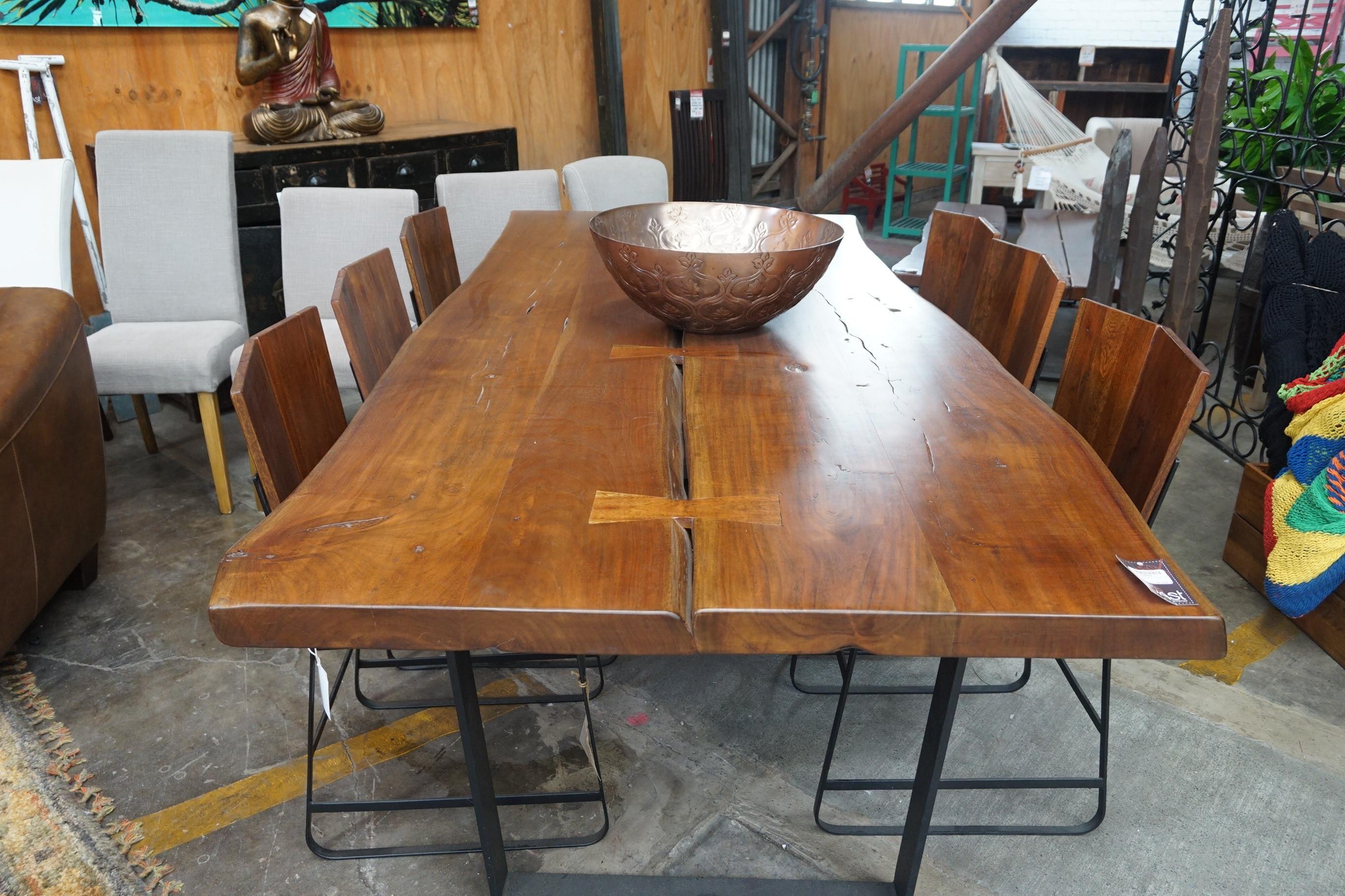 Solid Dining Table Large Image