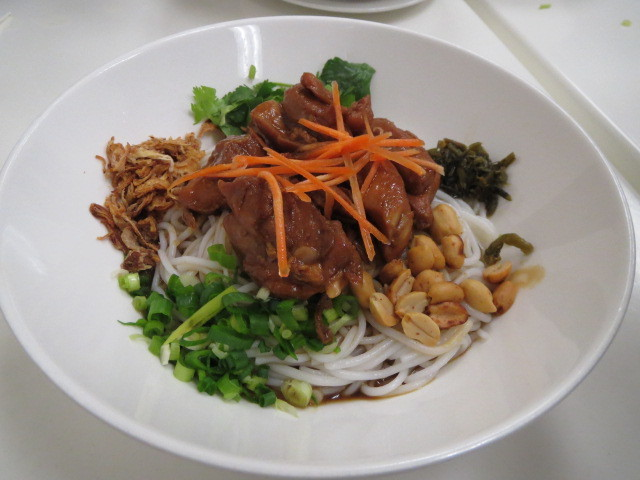 Southern Noodle Bar, Teriyaki Chicken Dry Rice Noodles, Adelaide