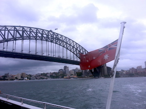Sydney Harbor Bridge, coat hanger, Australia, Port Jackson, NSW capital city, down under, architecture