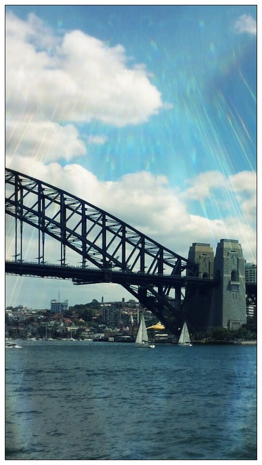 Sydney, Harbour, views, water, river