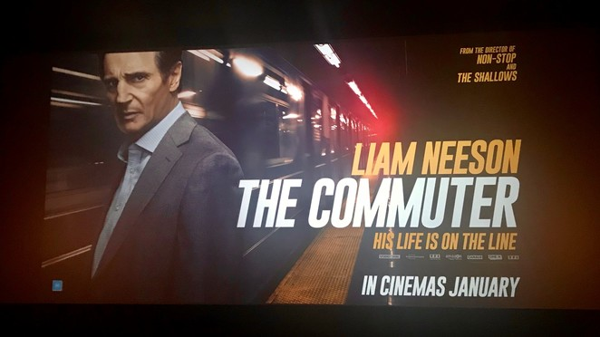 The commuter, film review, liam neeson