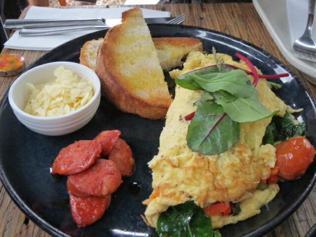 The Messy Tomato, Messy Omelette, Adelaide