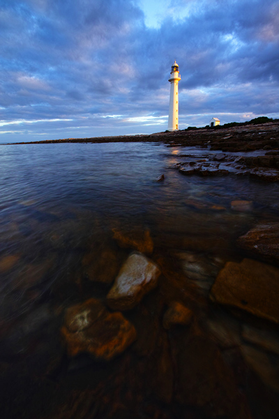 the Point Lowly Lighthouse in Whyalla South Australia