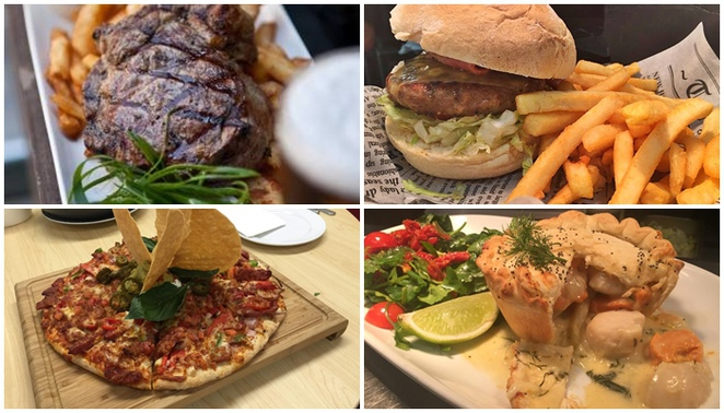 the royal hotel, queanbeyan, day trips from canberra, ACT, steak, rib eye, counter lunch
