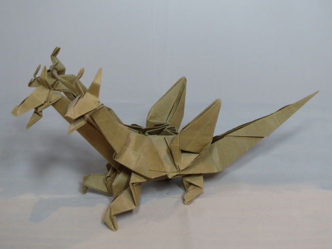 Three Headed Dragon, Origami