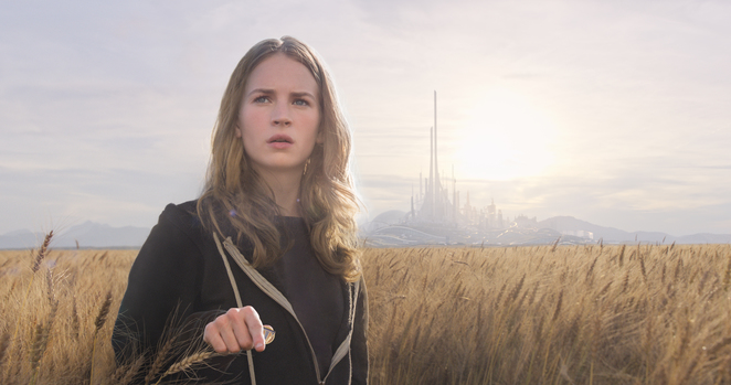 Disney's Tomorrowland - Britt Robertson plays Casey Newton