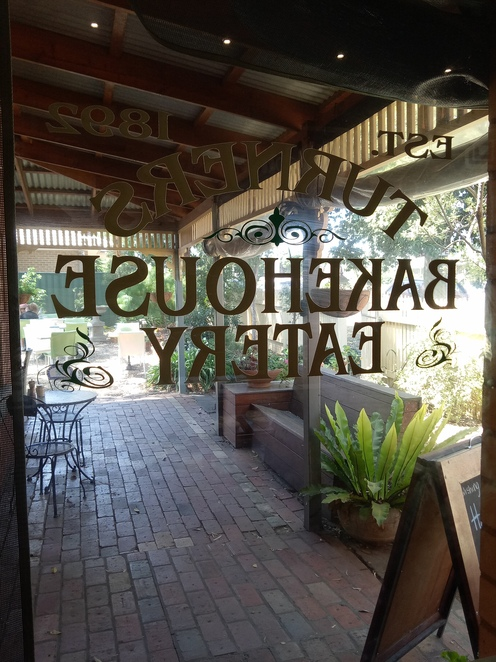 Turners bakery and eatery, lunch, cafe, high tea, courtyard dining, woodfire pizza