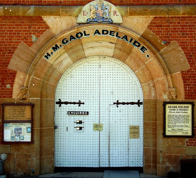 Whitelionbailout, Adelaide Gaol, Whitelion, Bail Out