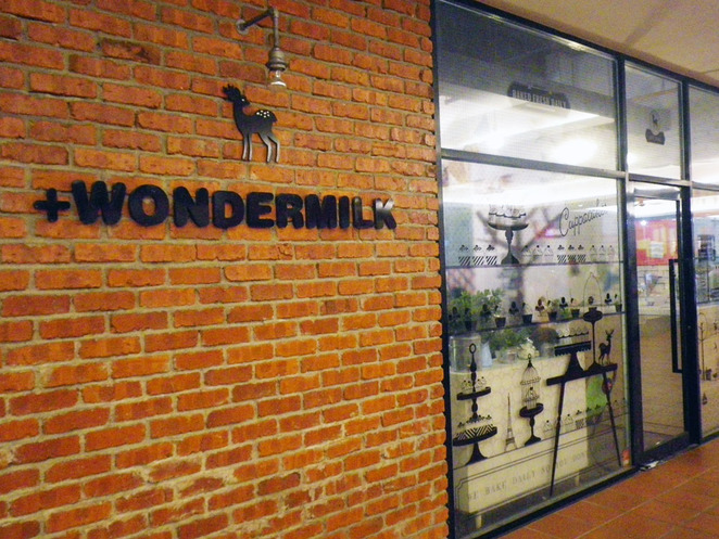 wondermilk cafe citta mall