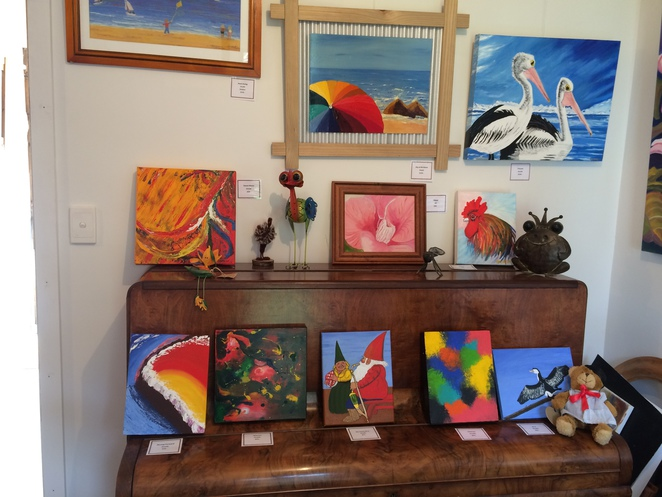 A Parade of Paintings