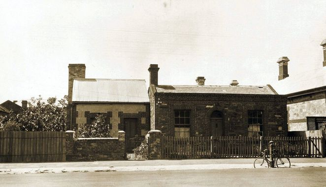about adelaide, history of adelaide, south australia, south terrace, tiny cottage, state library sa