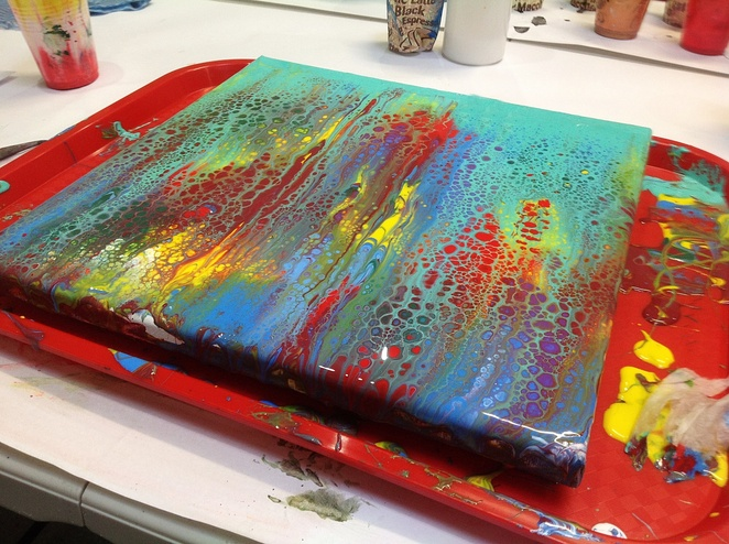 Acrylic Paint Pouring Workshop