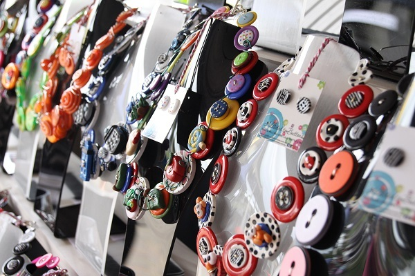 addicted to buttons, handmade expo market, Ipswich, jewellery