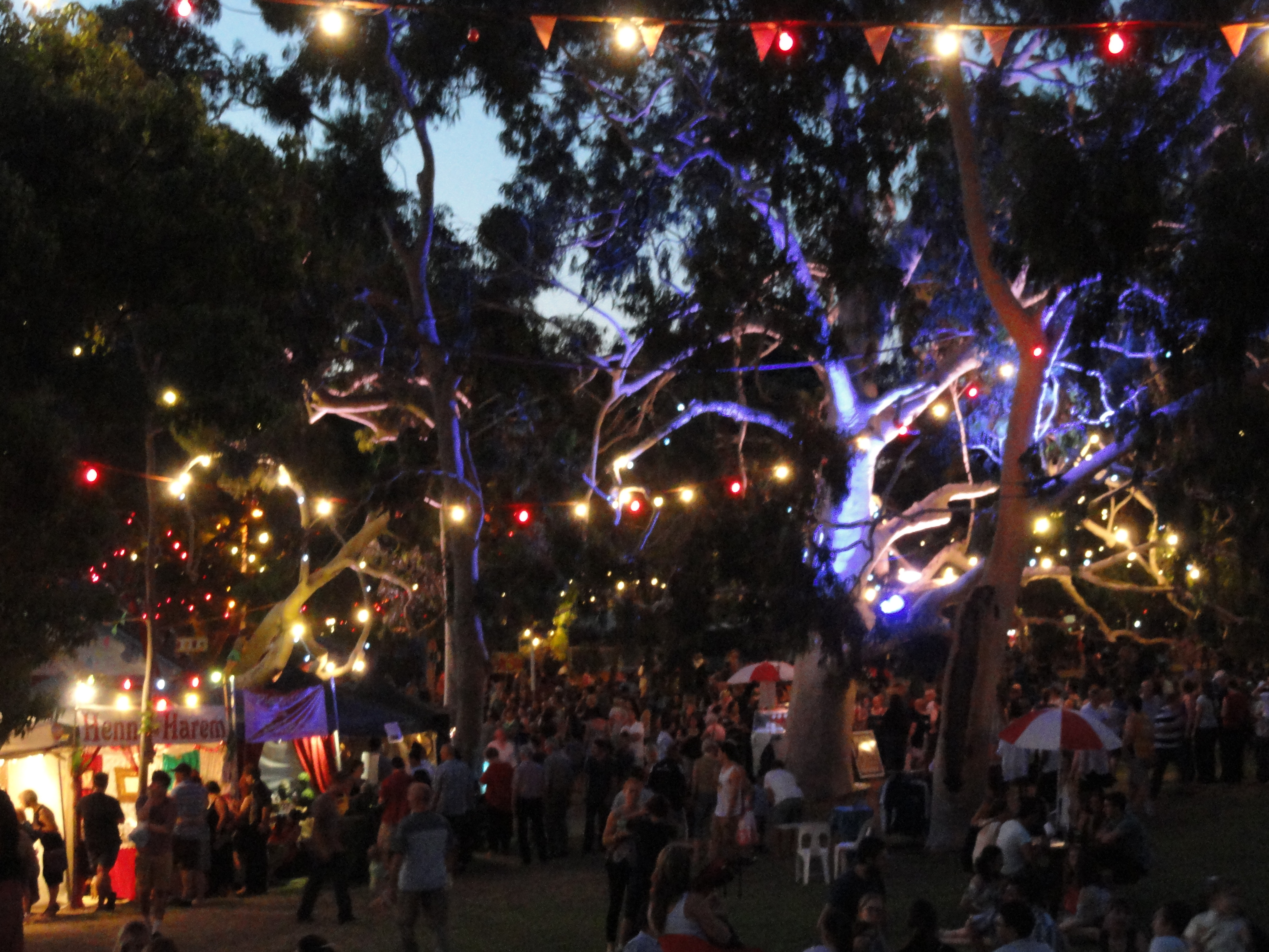 delights lighting. Adelaide Fringe Festival The Garden Of Unearthly Delights Rymill Park East Terrace Gluttony Bank SA Lighting