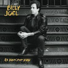 billy joel, innocent man, album, cover