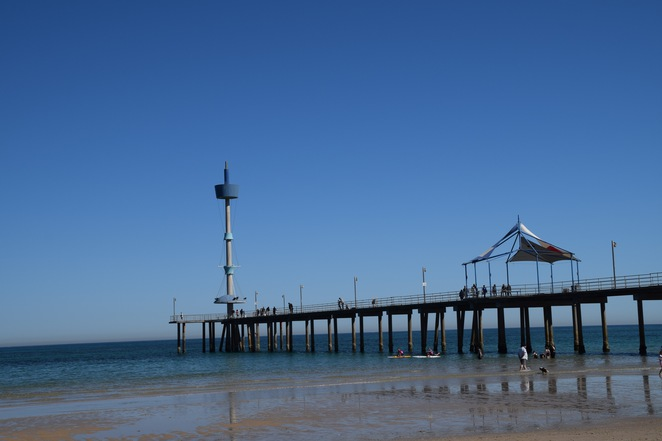 Brighton Walk through history, Brighton Jetty, Jetty Road, Charles Todd, Sir Douglas Mawson, Brighton Road, Dunluce Castle