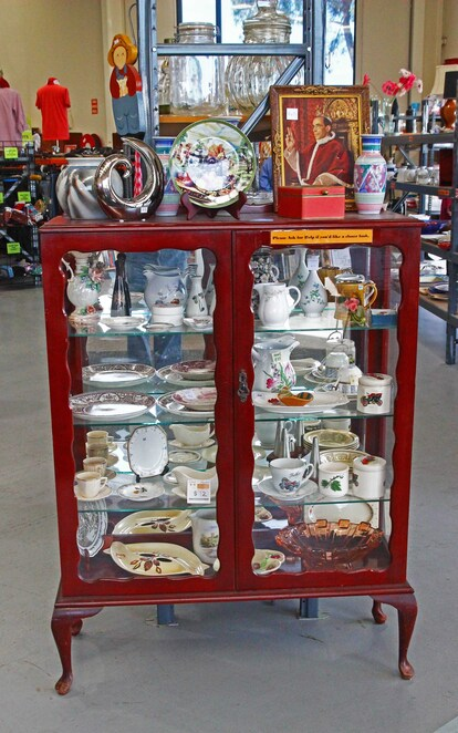 Cabinet of collectables