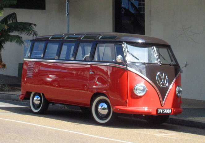 VW Kombi's were the first popular campervans