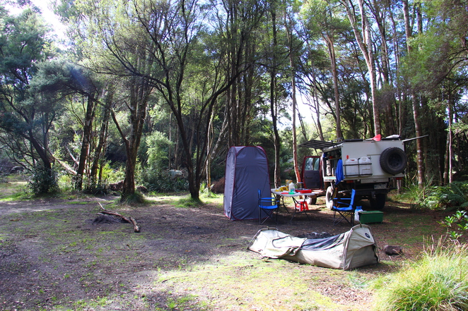 Camping at Tasmania's South West Wilderness